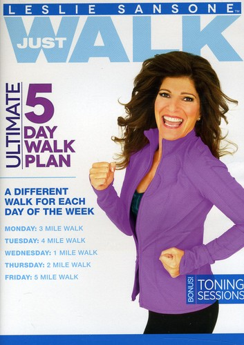 5 Day Walk Plan