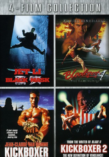 Black Mask & Bloodsport 4 & Kickboxer 1 & 2
