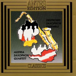 Music for Saxophone Quartets