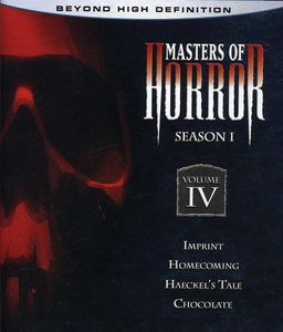Masters of Horror: Season One Vol 4