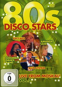 80s Disco Stars Live from Moskau 2 /  Various