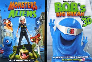 Monsters Vs Aliens: Ginormous Double DVD Pack