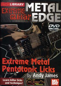Metal Edge-Extreme Guitar: Pentatonic Licks for