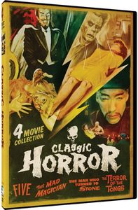 Classic Horror: Five /  Mad Magician /  Man Who