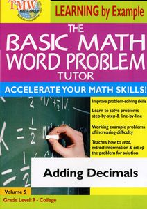 Basic Math Word Problms: Adding Decimals
