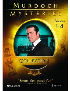 Murdoch Mysteries Collection: Seasons 1-4