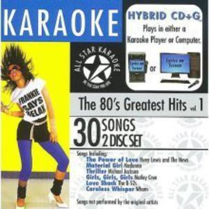 Karaoke: 80's Greatest Hits /  Various