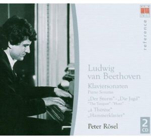 Peter Rosel Plays Beethoven Sonatas