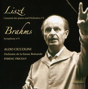 Aldo Ciccolini Plays Liszt & Brahms