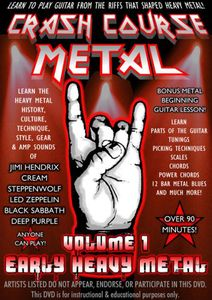 Crash Course Metal 1: Early Heavy Metal