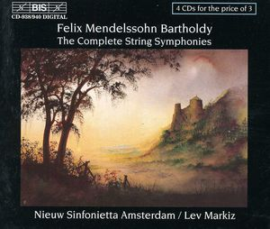 Complete String Symphonies [4-CD]
