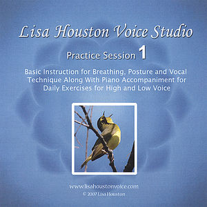 Lisa Houston Voice Studio Practice Sesson 1