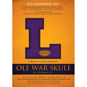 Ole War Skule: Stories of Lsu Football 1950's