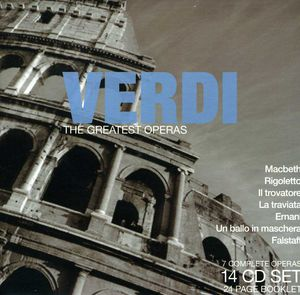 Verdi: Greatest Operas /  Various