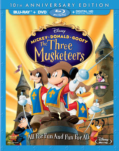 Mickey Donald Goofy: Three Musketeers 10th Anniversary