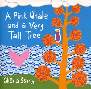 Pink Whale & a Very Tall Tree