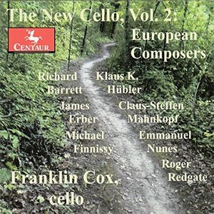 New Cello - European Composers 2