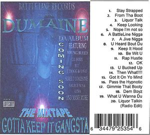 Gotta Keep It Gangsta Tha Mixtape