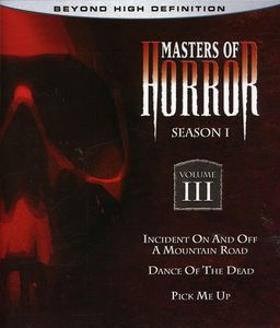 Masters of Horror: Season One Vol 3