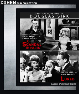 Two Films From Director Douglas Sirk: A Scandal In Paris/ Lured