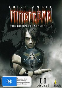 Criss Angel Mind Freak Box Set Series 1-4