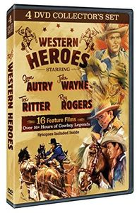 Western Heroes (4 DVD Collector's Set)