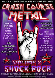 Crash Course Metal 2: Shock Rock