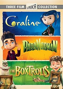 Boxtrolls /  Paranorman /  Coraline Triple Feature