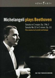 Michelangeli Plays Beethoven