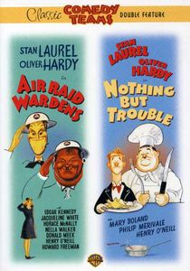 Laurel & Hardy: Air Raid Wardens & Nothing But