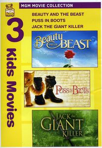 Beauty & Beast & Puss in Boots & Jack Giant Killer