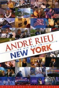 Andre Rieu on His Way to New York (Pal/ Region 0)