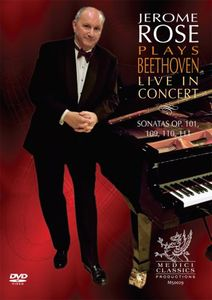 Jerome Rose Plays Beethoven Live in Concert