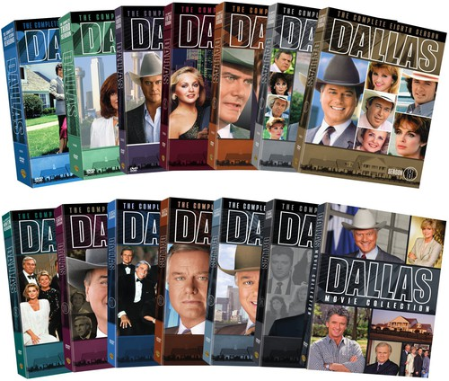 Dallas: First - Fourteenth Seasons + The Movie Collection