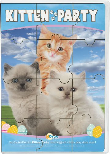 Animal Atlas: Kitten Party W/ Puzzle