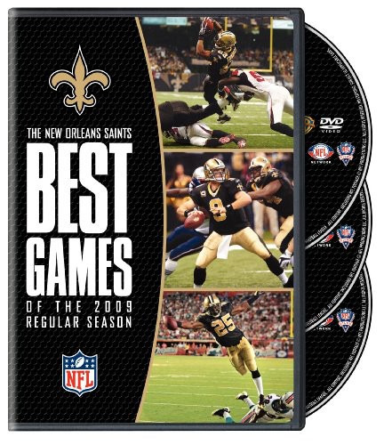 NFL New Orleans Saints Best Games of 2009 Regular
