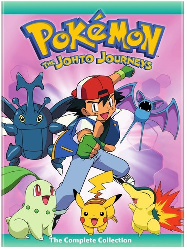 Pokemon: The Johto Journeys - Complete Collection