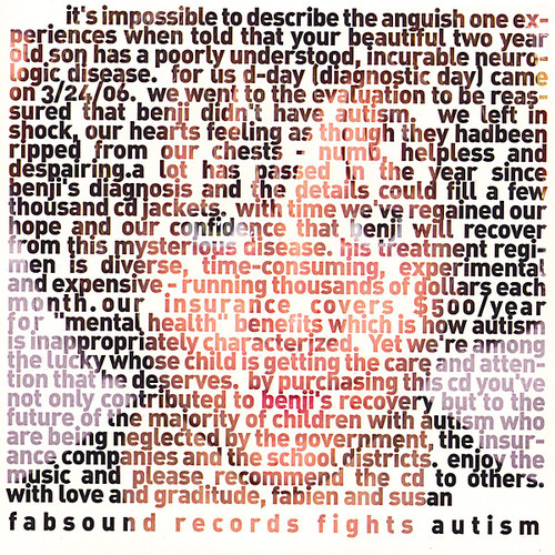Fabsound Records Fights Autism /  Various