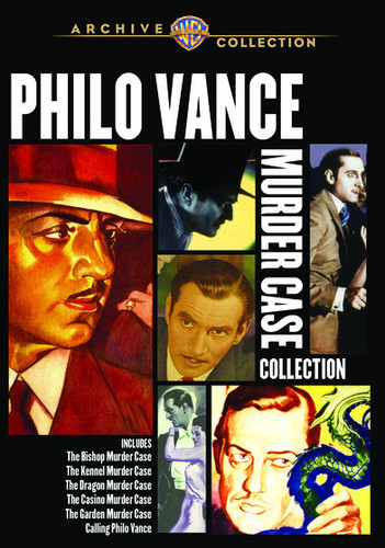 Philo Vance Murder Case Collection