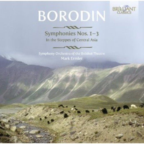 Symphonies Nos 1-3 /  in Steppes of Central Asia