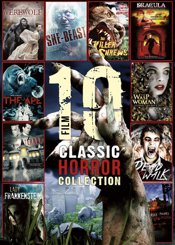 10-Film Classic Horror Collection