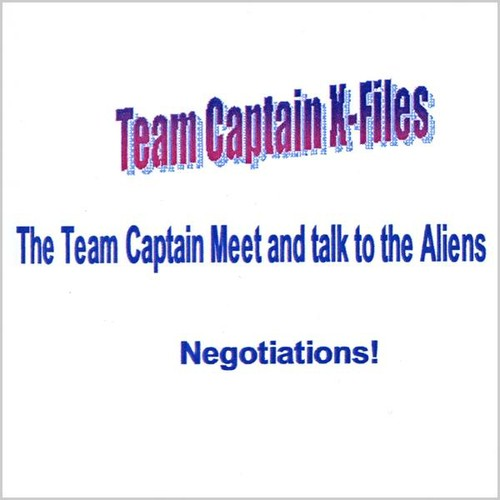 Team Captain Meets & Talk's to Aliens