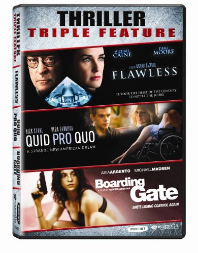 Flawless & Quid Pro Quo & Boarding Gate: Triple
