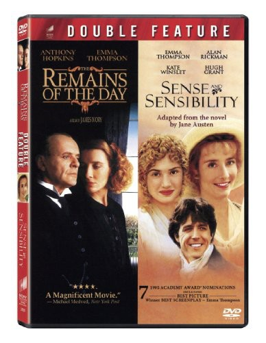 Remains of the Day & Sense & Sensibility