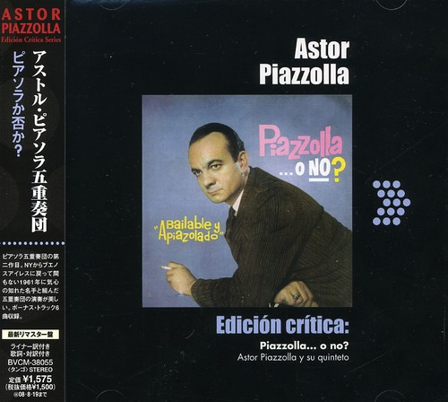 Piazzolla O No [Import]