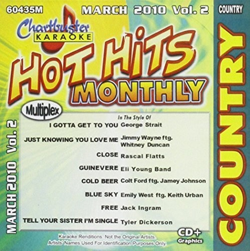 Karaoke: Hot Hits Country-March 2010