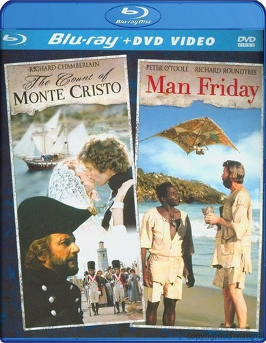 Count of Monte Cristo /  Man Friday Double Feature