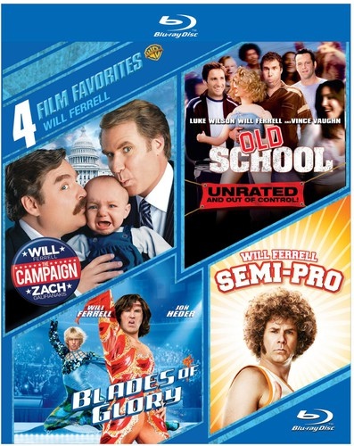 4 Film Favorites: Will Ferrell