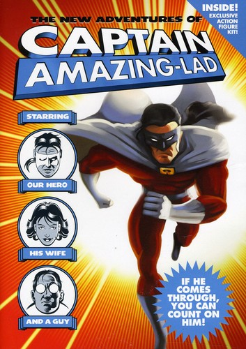 New Adventures of Captain Amazing-Lad