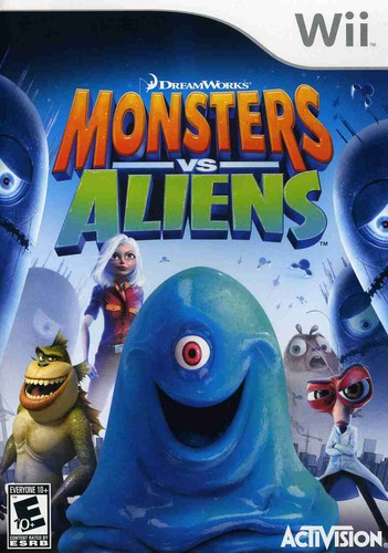 Monsters vs. Aliens for Nintendo Wii